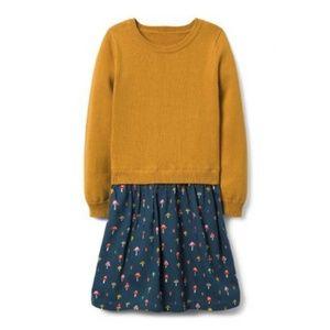 Gymboree Mushroom Sweater Dress Size 4